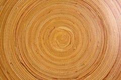 Bamboo Texture. Brown circular textures made from bamboo Royalty Free Stock Photo