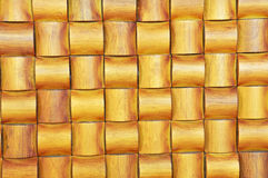 Bamboo texture. This crafting is made from bamboo. can be used for the texture background Royalty Free Stock Photo