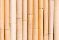 Bamboo texture, architecture decoration in asia. Royalty Free Stock Photo