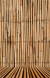 Bamboo texture background with. Rush or bamboo texture with studio floor for inserting isolated images, digital image Royalty Free Stock Image