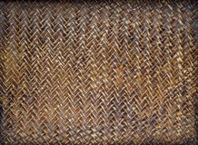 Bamboo texture background. The brown bamboo texture background, Thai style royalty free stock photo