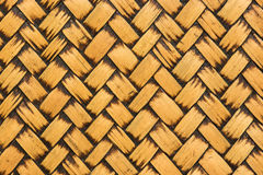 Bamboo texture background. Texture background of Yellow Bamboo stick cross Stock Photography