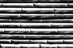 Bamboo texture in black and white Royalty Free Stock Photos