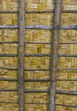 Bamboo texture. From the ceiling Royalty Free Stock Photography