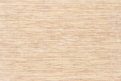 Bamboo texture with fine woven cloth Royalty Free Stock Photography