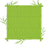 Bamboo texture in the frame Stock Images