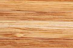 Bamboo texture with horizontal stripes Royalty Free Stock Images