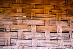 Bamboo texture. Old bamboo wall texture. background Royalty Free Stock Photo
