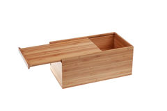 Bamboo Tissue box Stock Photography