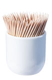 Bamboo toothpick Stock Photography