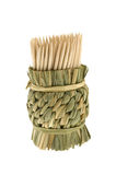 Bamboo toothpicks Stock Image