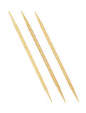 Bamboo toothpicks Royalty Free Stock Image
