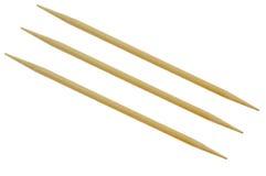 Bamboo toothpicks Royalty Free Stock Photography