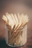 bamboo toothpicks Royalty Free Stock Photos