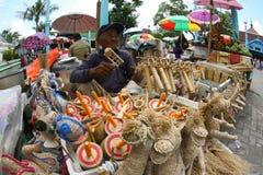 Bamboo toys Royalty Free Stock Image