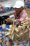 Bamboo toys Stock Photography
