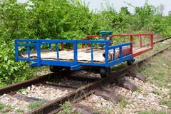 Bamboo Train Stock Photos