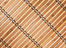Bamboo Tray Royalty Free Stock Photography