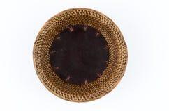 Bamboo tray Royalty Free Stock Photo