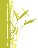 Bamboo Tree. Vector illustration of bamboo tree silhouette Stock Photo
