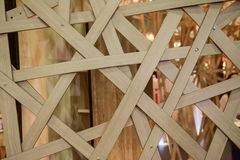 Bamboo truss structure Royalty Free Stock Photos
