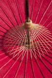 Bamboo Umbrella Stock Images