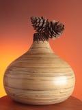 Bamboo vase Stock Photos