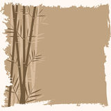 Bamboo vector background Royalty Free Stock Image