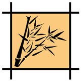 Bamboo vector illustration Stock Images