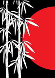 Bamboo vector illustration Royalty Free Stock Images