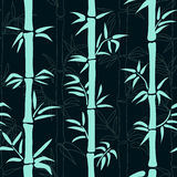 Bamboo vector pattern. Stock Images