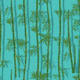 Bamboo vertical seamless pattern Royalty Free Stock Photography