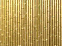 Bamboo wall. Very high resolution 3d rendering of a bamboo wall Stock Photo