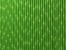Bamboo wall. Very high resolution 3d rendering of a bamboo wall Stock Images