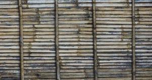 Bamboo wall Stock Photo