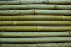 Bamboo wall background Stock Photos