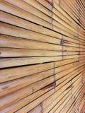 Bamboo Wall. Royalty Free Stock Photos
