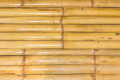 Bamboo wall background Royalty Free Stock Images