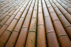 Bamboo wall/bamboo house Stock Photos