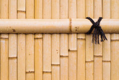 The  bamboo wall Stock Photography