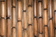 Bamboo wall pattern Royalty Free Stock Image