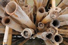 Bamboo wall Royalty Free Stock Image