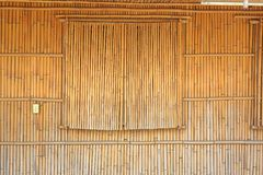 Bamboo Wall and Shutters Stock Image