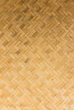 Bamboo wall texture Stock Photography