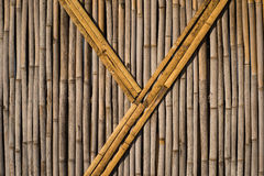 Bamboo wall texture Royalty Free Stock Photo