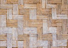 Bamboo wall weave Royalty Free Stock Image