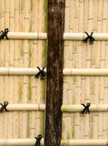 Bamboo walls. Royalty Free Stock Images