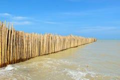 Bamboo walls Royalty Free Stock Photos