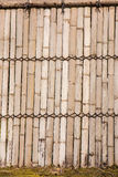 Bamboo walls. Royalty Free Stock Photo