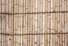 Bamboo walls. Stock Photo